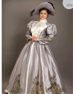 שמלה מפוארת ואצילה
