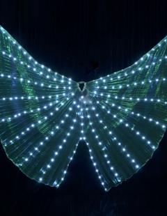 דגם 186 כנפיים מרהיבות עם תאורת לדים