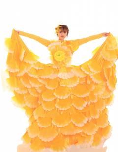 דגם 78 א' פרח ענק צהוב